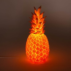 Ananas pina colada eva newton goodnight light pina colada rouge fluo luminaire lighting design signed 60511 thumb