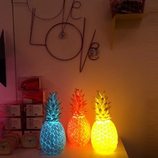 Ananas pina colada eva newton goodnight light pina colada rouge fluo luminaire lighting design signed 60512 thumb