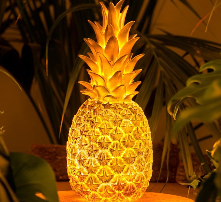Ananas pina colada eva newton goodnight light pina colada or luminaire lighting design signed 60558 product