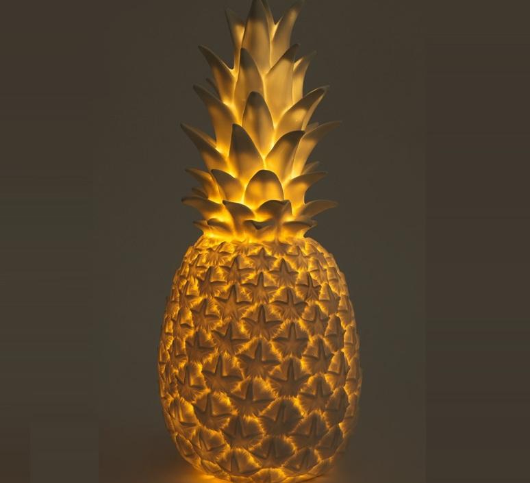 Ananas pina colada eva newton goodnight light pina colada or luminaire lighting design signed 60562 product