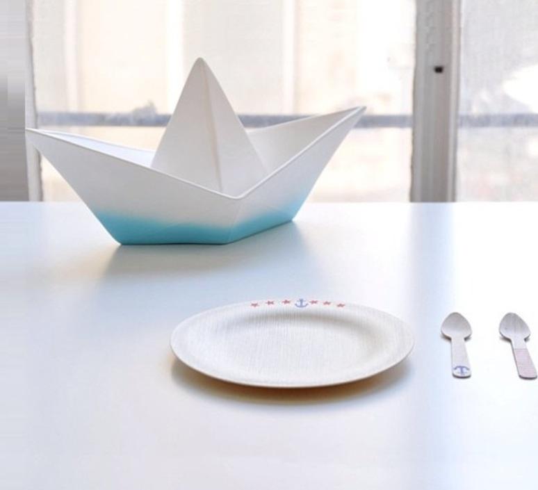 Bateau lorena canals goodnight light paperboat bleu luminaire lighting design signed 60603 product