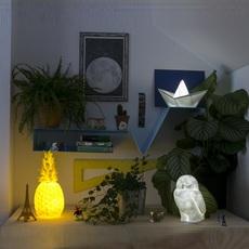 Bateau lorena canals goodnight light paperboat bleu luminaire lighting design signed 60605 thumb