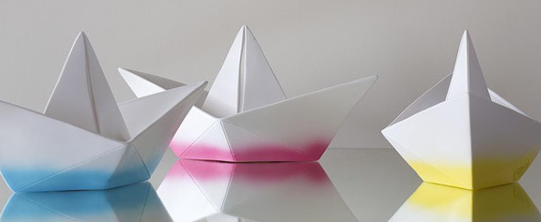 Copy of lampe enfant veilleuse bateau blanc l32cm goodnight light normal