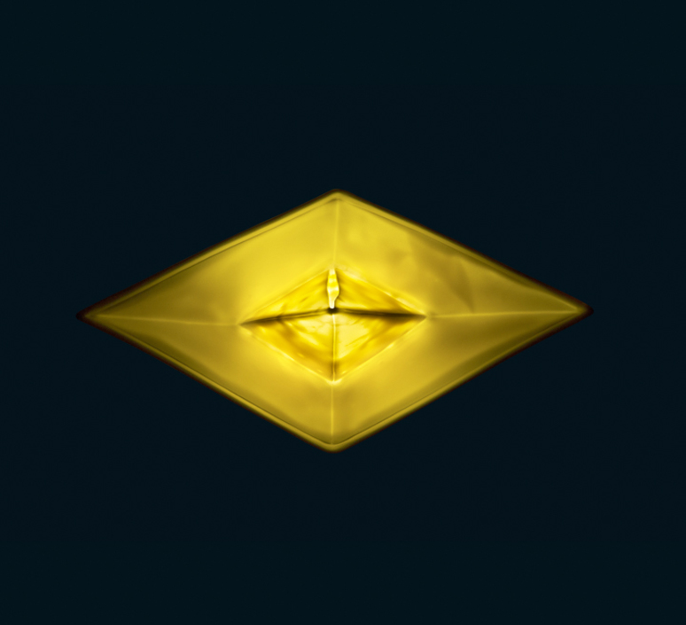 Bateau lorena canals goodnight light paperboat jaune luminaire lighting design signed 60596 product