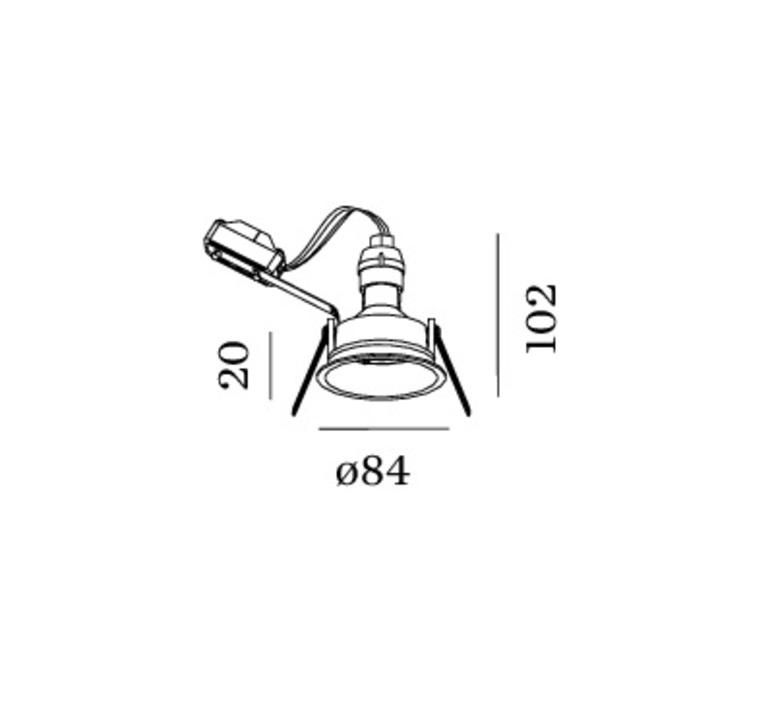 Deep adjust 1 0 led studio wever ducre spot encastrable recessed light  wever et ducre 112361b 3  design signed 56634 product