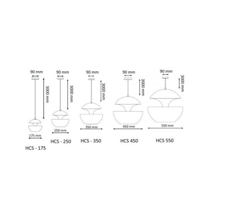 Here comes the sun 175 bertrand balas suspension pendant light  dcw editions bl cop 175  design signed nedgis 70287 product