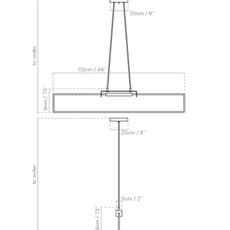 Ra pendant alexandre joncas gildas le bars suspension pendant light  d armes rasuwhox2 cable112  design signed nedgis 71019 thumb