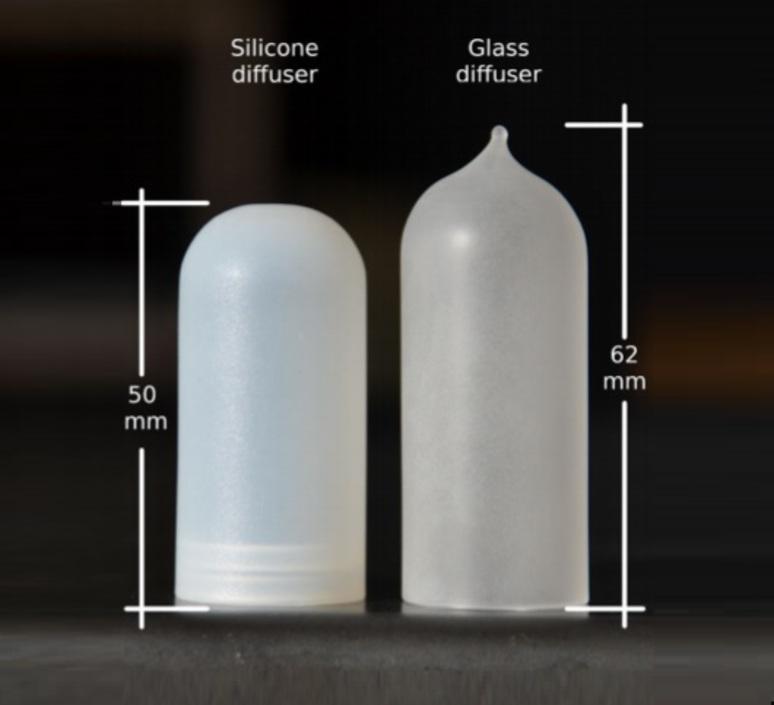 Diffuseur verre glass opalin pour mini mini zava 66265 product