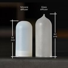 Diffuseur verre glass opalin pour mini mini zava 66265 thumb