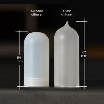 Diffuseur verre glass opalin pour mini mini zava normal