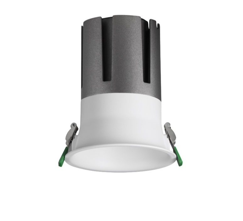 Downlight widot blanc led 950lm 4000k ugr 17 o8 5cm h9cm 10w non dimmable pan international 90249 product