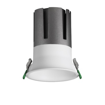 Downlight widot blanc led 950lm 4000k ugr 17 o8 5cm h9cm 10w non dimmable pan international normal