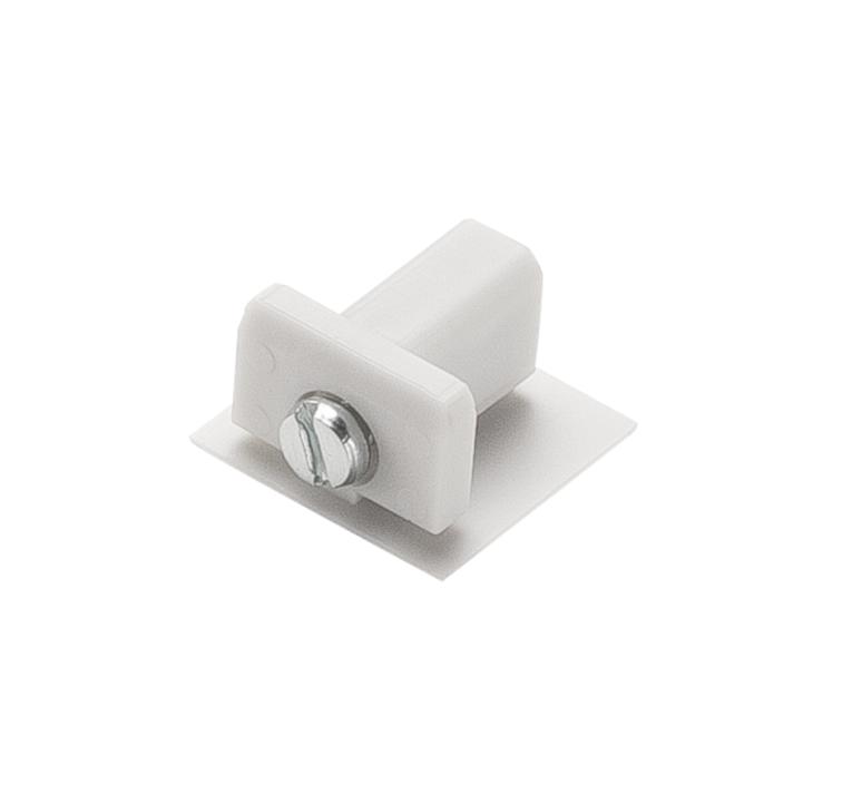 Embout pour rail d track blanc plastique l1 1cm h1 8cm slv 72567 product