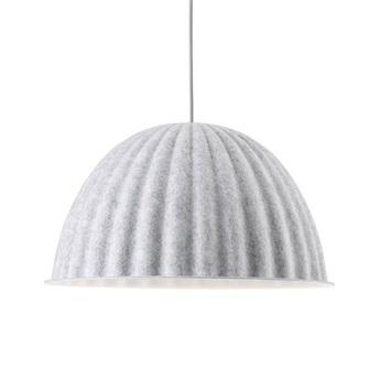 Grande suspension acoustique under the bell blanc o82cm muuto normal