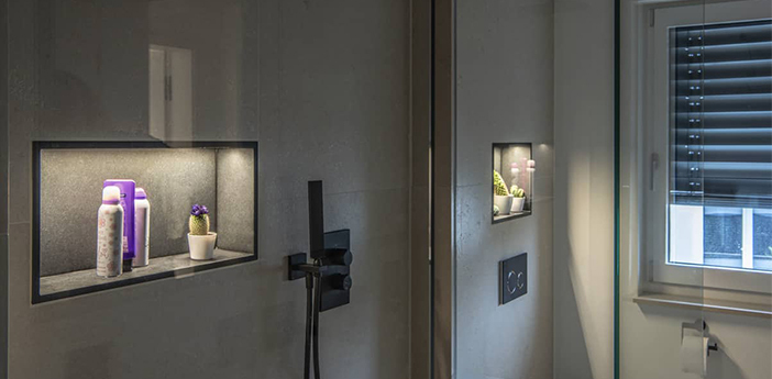 Guirlande lumineuse grazia flexstrip blanc ip54 led 3000k 3350lm l500cm h0 4cm slv normal