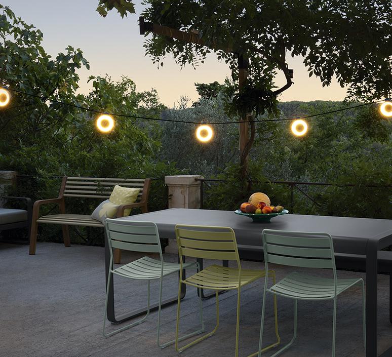 Hoop bluetooth tristan lohner guirlande lumineuse light string  fermob 350121  design signed nedgis 106351 product