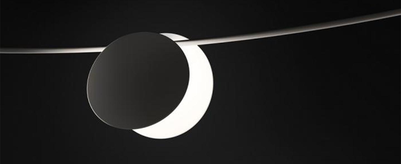 Guirlande lumineuse june 4735 noir ip65 led 2700k 150lm l200cm h17cm vibia normal