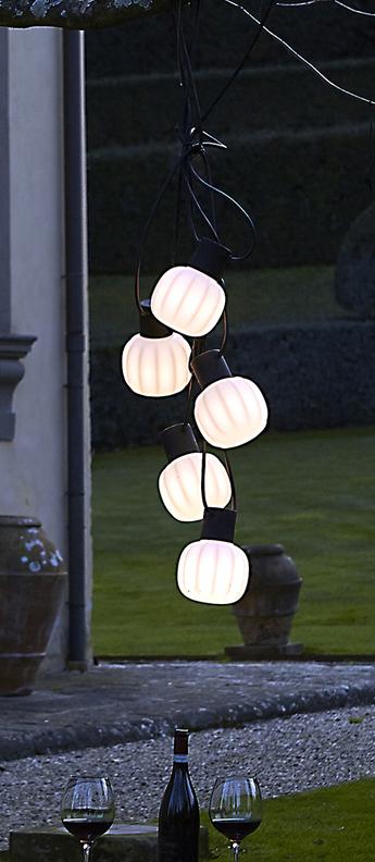 Guirlande lumineuse kiki m blanc led l100cm hcm martinelli luce normal