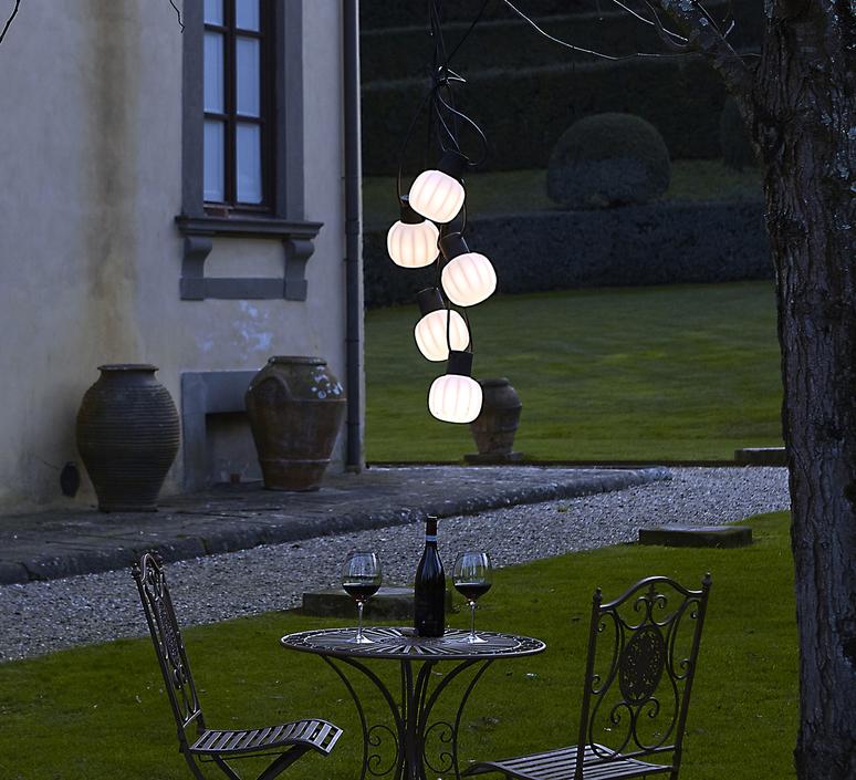 Kiki m paola navone guirlande lumineuse light string  martinelli luce 21004 5 ne  design signed 52147 product