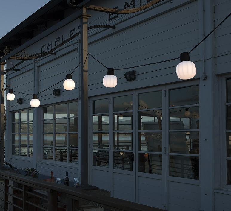Kiki m paola navone guirlande lumineuse light string  martinelli luce 21004 5 ne  design signed 52148 product