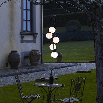 Guirlande lumineuse kiki m blanc led l100cm hcm martinelli luce normal