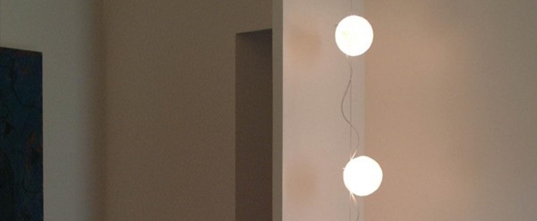 Guirlande lumineuse lune branchement plafond blanc h250cm celine wright normal