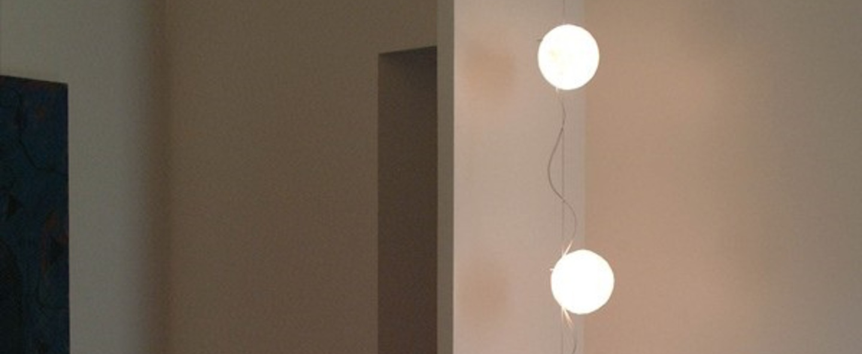 Guirlande lumineuse lune prise au sol blanc h250cm celine wright normal