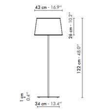 122 grand nuage herve langlais lampadaire floor light  designheure l122gngo  design signed nedgis 121397 thumb