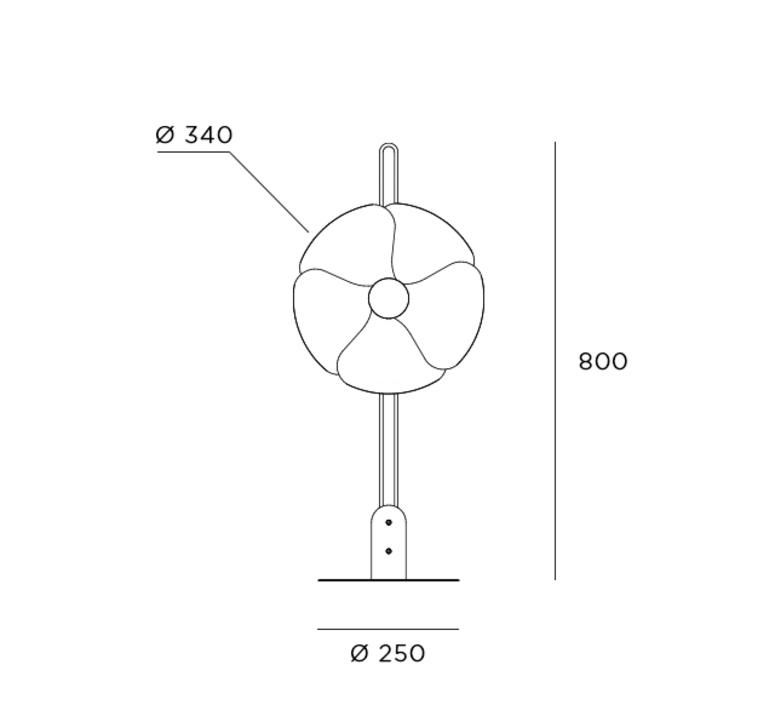 2093 80 olivier mourgue lampadaire floor light  disderot 2093 80 ch  design signed nedgis 83427 product