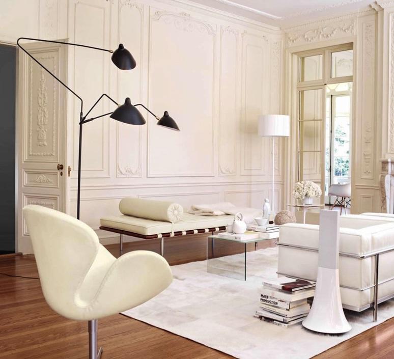 3 bras pivotants serge mouille editionssergemouille l3b noir luminaire lighting design signed 20763 product