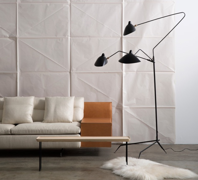 Bedroom Floor Reading Lamp