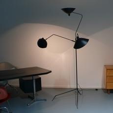 3 bras pivotants serge mouille editionssergemouille l3b noir luminaire lighting design signed 20769 thumb