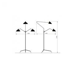 3 bras pivotants serge mouille editionssergemouille l3b noir luminaire lighting design signed 20772 thumb