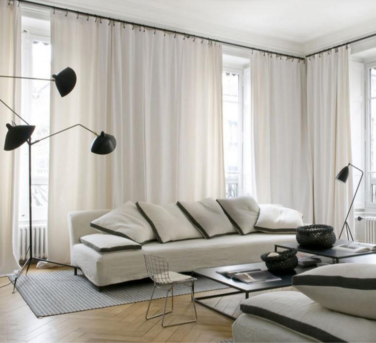 3 bras pivotants serge mouille editionssergemouille l3b noir luminaire lighting design signed 20773 product