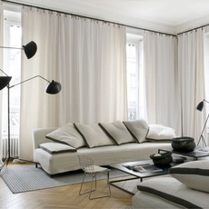 3 bras pivotants serge mouille editionssergemouille l3b noir luminaire lighting design signed 20773 thumb