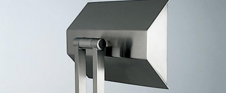 Lampadaire 555 led nickel h185cm lumen center italia normal