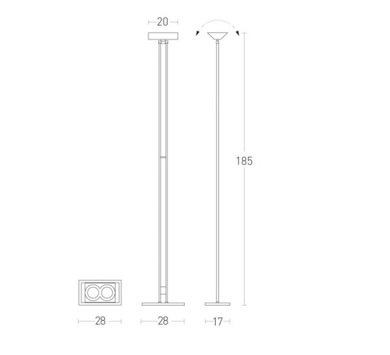 555 led elio giudici lumen center italia 555166l luminaire lighting design signed 23137 product