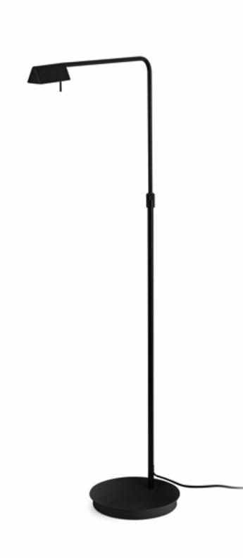 Lampadaire academy noir led h56cm h122cm faro normal