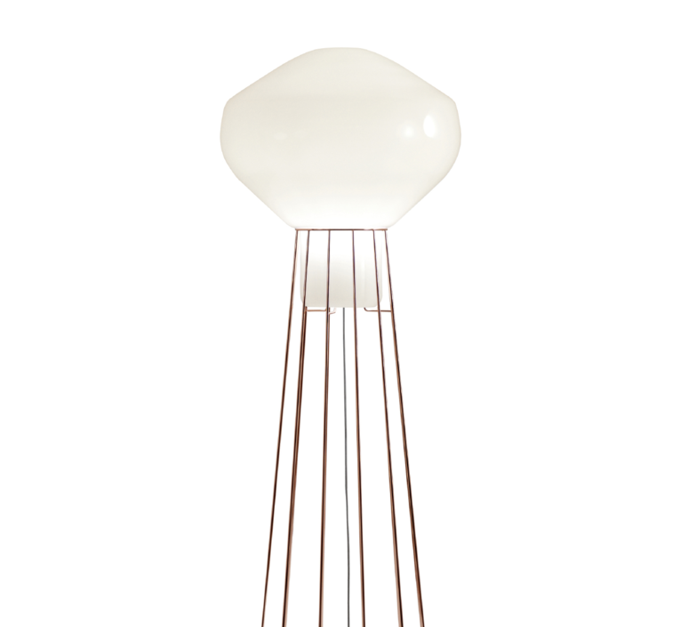 Aerostat f27 guillaume delvigne lampadaire floor light  fabbian f27c03 41  design signed 39807 product
