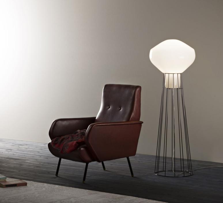 Aerostat f27 guillaume delvigne lampadaire floor light  fabbian f27c03 24  design signed 39815 product