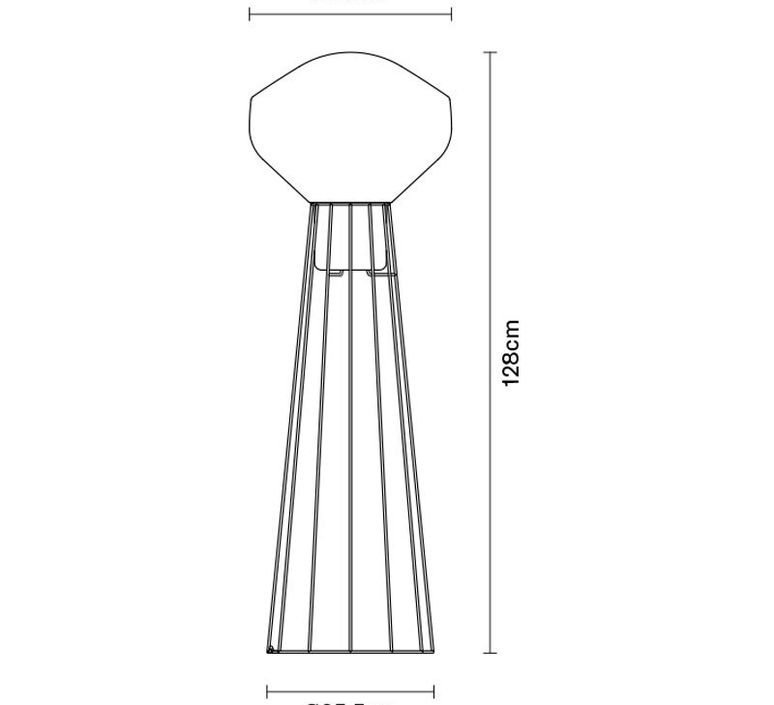 Aerostat f27 guillaume delvigne lampadaire floor light  fabbian f27c03 19  design signed 39811 product