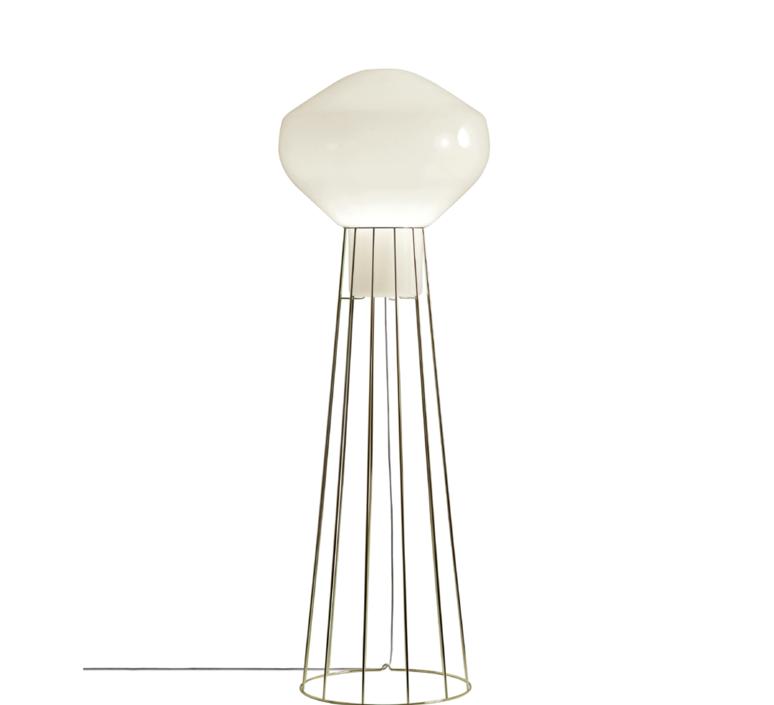 Aerostat f27 guillaume delvigne lampadaire floor light  fabbian f27c03 19  design signed 39814 product