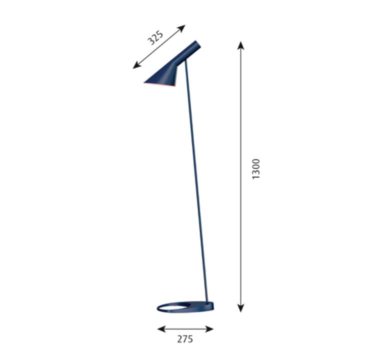 Aj arne jacobsen lampadaire floor light  louis poulsen 5744165374  design signed 48542 product