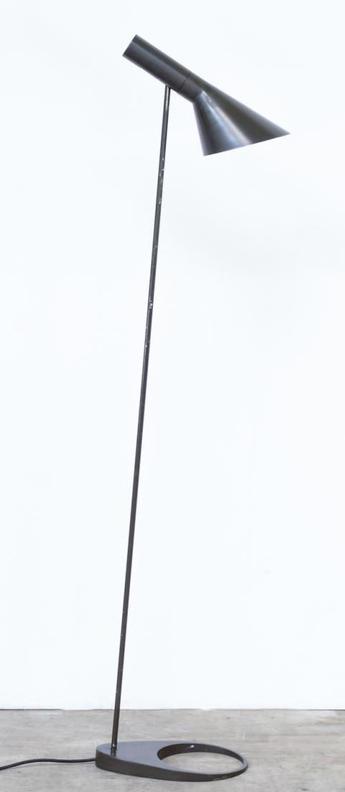 Lampadaire aj gris fonce l27 5cm h130cm louis poulsen normal