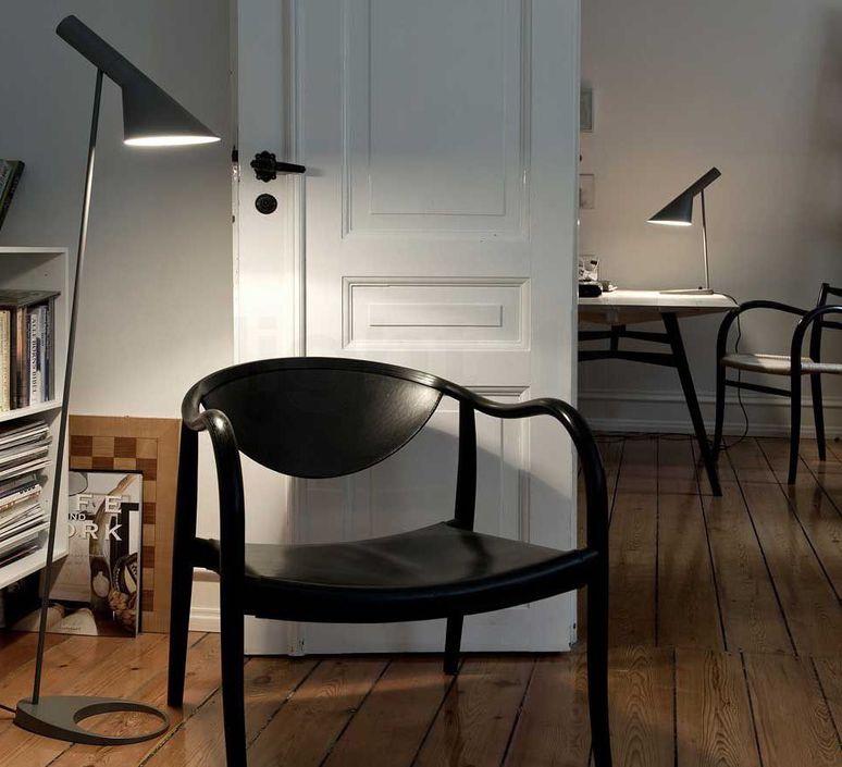 Aj arne jacobsen lampadaire floor light  louis poulsen 5744165400  design signed 48548 product