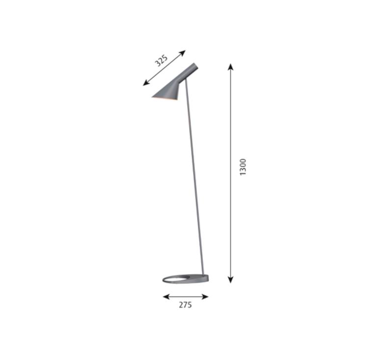 Aj arne jacobsen lampadaire floor light  louis poulsen 5744165400  design signed 48550 product