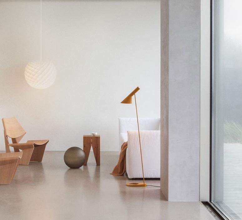 Aj arne jacobsen lampadaire floor light  louis poulsen 5744165358  design signed 88190 product