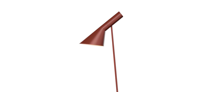Lampadaire aj rouge l27 5cm h130cm louis poulsen normal