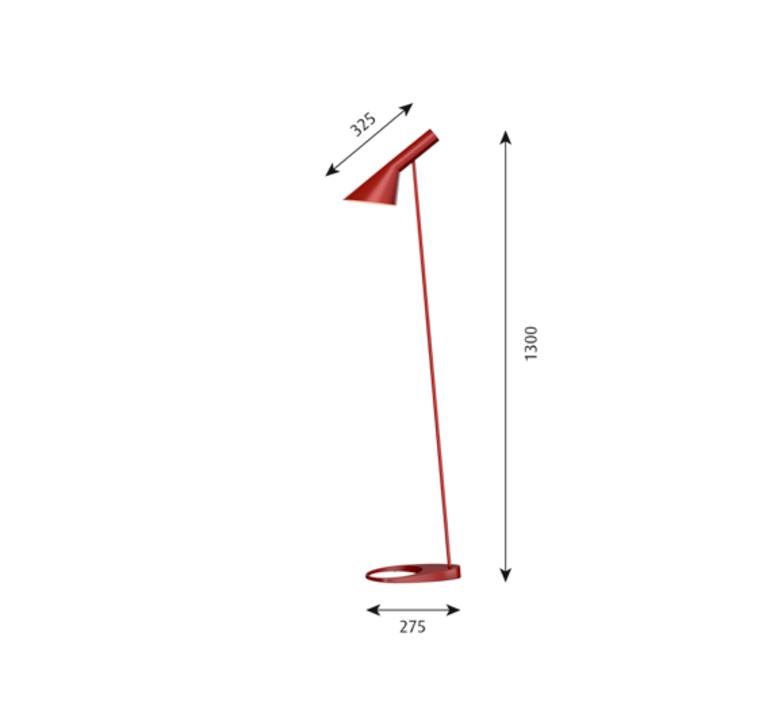 Aj arne jacobsen lampadaire floor light  louis poulsen 5744165361  design signed 48567 product