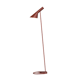 Lampadaire aj rouge l27 5cm h130cm louis poulsen normal